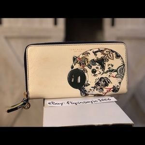 Tory Burch Peggy The Pig Continental Wallet $228